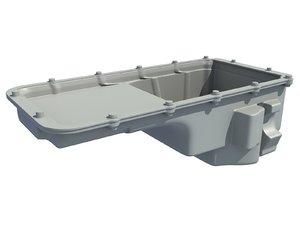 3D oil pan