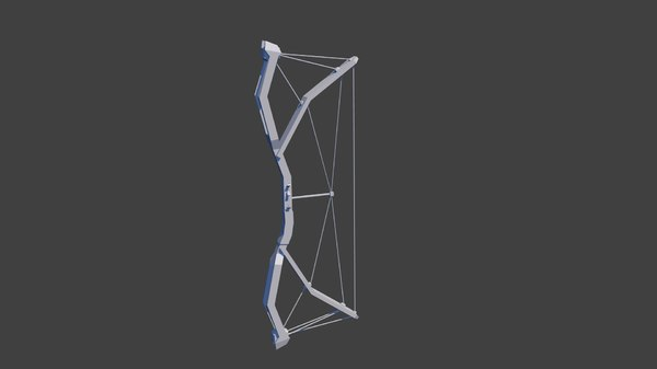 3D rigged bow