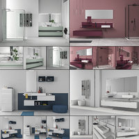 3D bathroom furniture 8 model