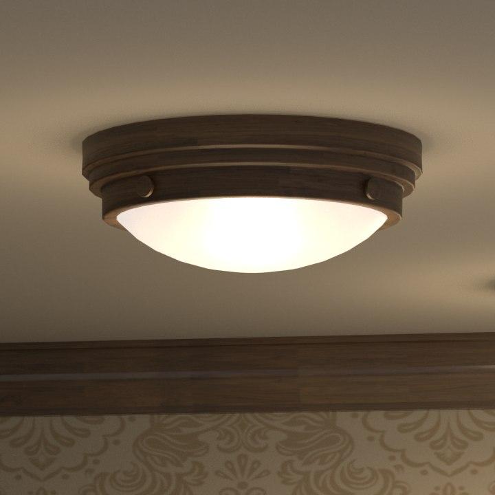 light ceiling 3D model