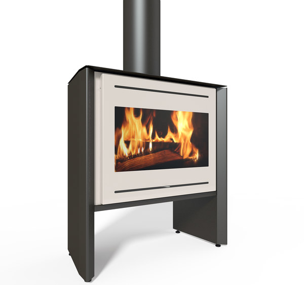 3D model wood stove