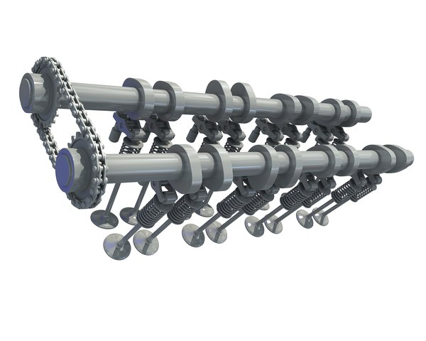 camshaft valves 3D model