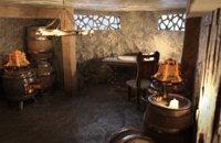 3D model alchemist lab medieval interior