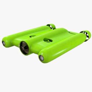 gladius underwater drone 3D model