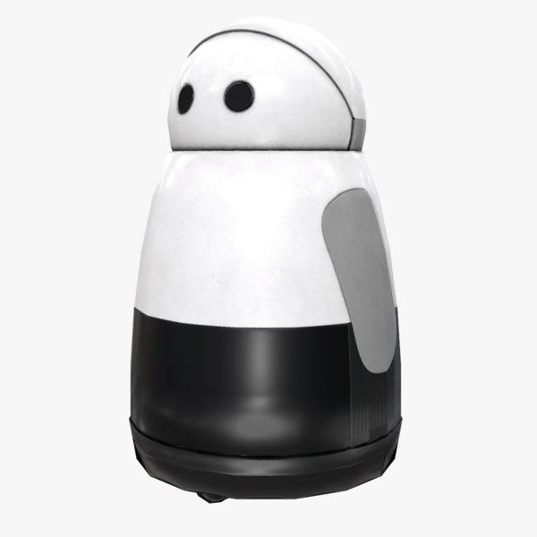 3D kuri home robot model