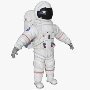 3D astronaut model