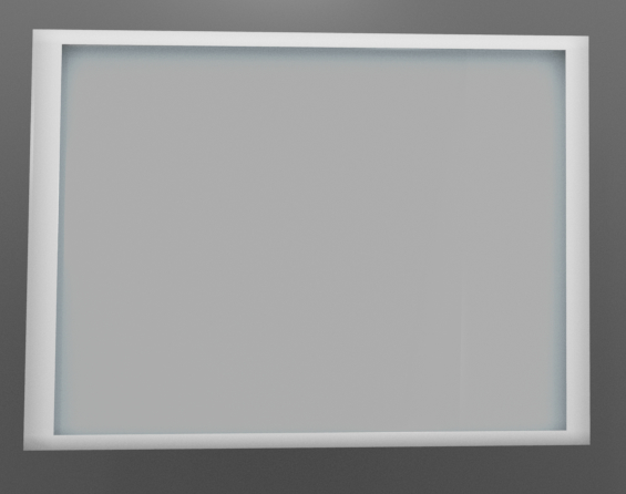 pictureframe glass 3D