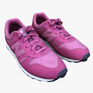 new balance female sneakers 3D
