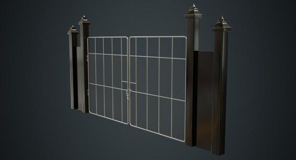 3D gate 2a model