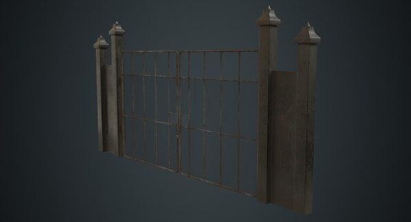 3D gate 2b