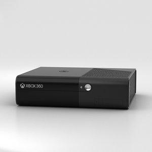 microsoft e 360 3D model