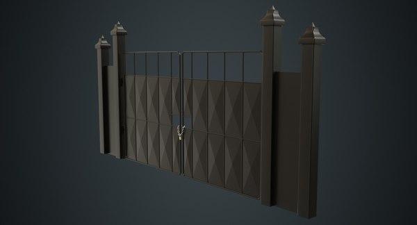 3D gate 3a