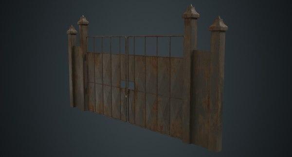 3D gate 3b