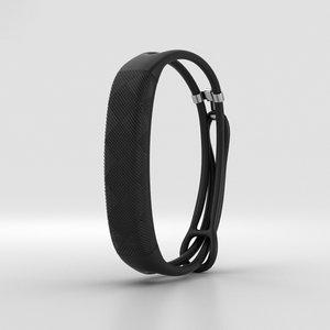 jawbone up2 black 3D