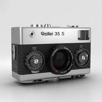3D model rollei 35 s