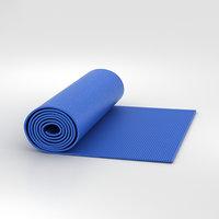yoga mat 3D model