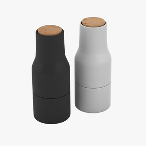 bottle grinders 3D