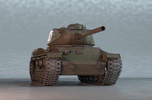 heavy tank kv-85 3D