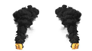 3D model large scale smoke fx