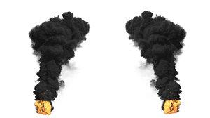 3D model large scale smoke fx