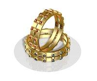 3D model rings