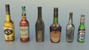 bottles 2 3D model