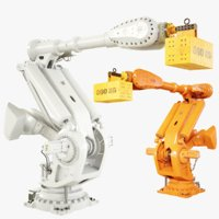 3D model industrial robot 8700