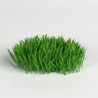 grass weed 1 3D
