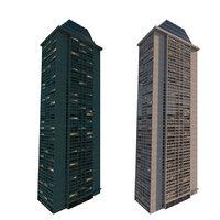 skyscraper lighting model