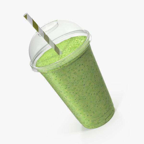 kiwi coctail plastic cup model