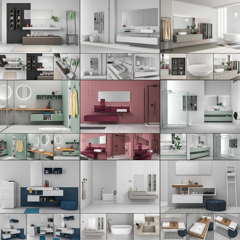3D bathroom furniture 5 9