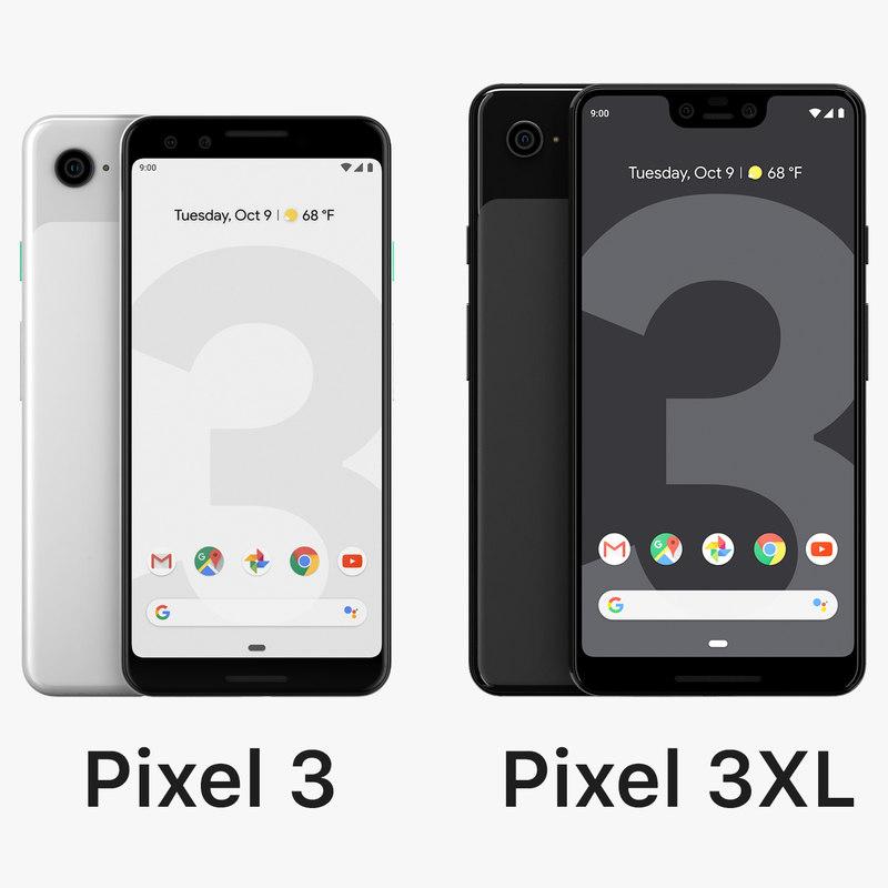 google pixel 3xl 3 3D model