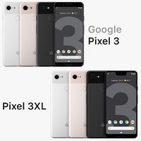 Google Pixel 3XL and Pixel 3 All Colors