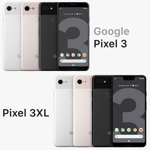 3D google pixel 3xl 3