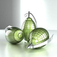 3D grenade ready model