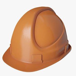 construction helmet 3D