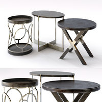 Bernhardt Clarendon Round End Tables