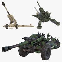 3D howitzers battle artillery