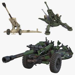 3D howitzers battle artillery
