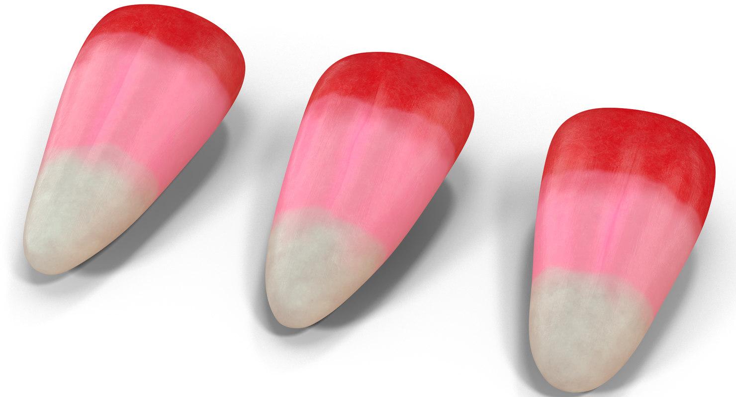 valentine corn 3D model