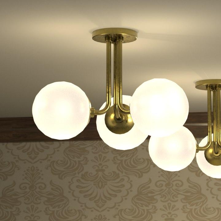 modern light 3D
