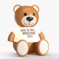 Kartell Moschino bear toy lamp