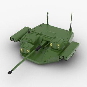 turret bumerang-bm bumerang 3D