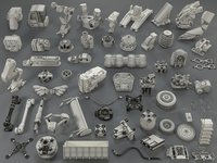 Kit bash(57 pieces) - collection-20