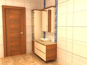 cabinet design 3D model