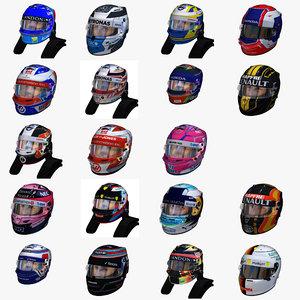 helmets formula 1 model