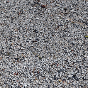 ultra realistic gravel white 3D model