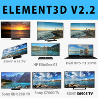 E3D - TOP TV OLED 4K model