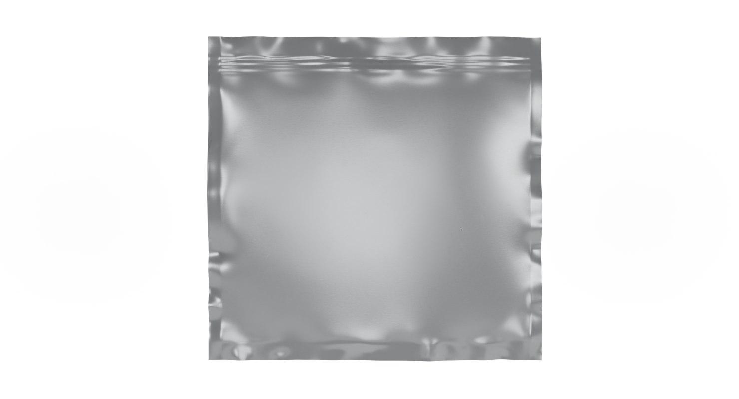 foil package 3D model
