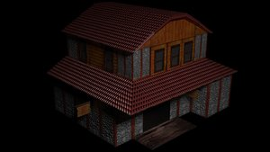 tavern fantasy 3D model